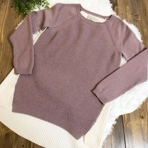 Two color sweater